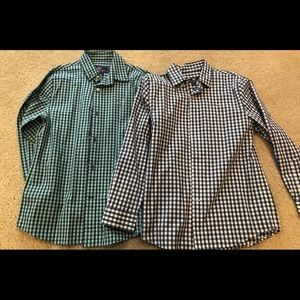 Two boys vineyard vines button downs